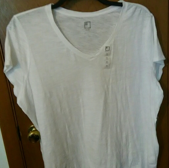 7d528df3eef94b jcpenney Tops | Womens White Jcp Top Size 2x Nwt | Poshmark